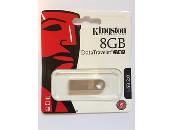 USB-minne Kingston 8GB - helt nytt