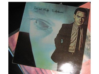 "robrt fripp LP ""exposure"" king crimson related"