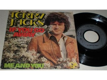 Terry Jacks 45/PS If you go away 1974