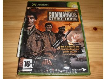 Xbox: Commandos Strike Force (ny)