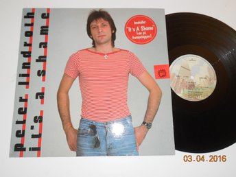 PETER LINDROTH - It's a shame, LP Mercury 6363 028, 1980