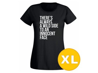 T-shirt WildSide Svart Dam tshirt XL