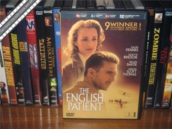 ENGLISH PATIENT - Ralph Fiennes, Juliette Binoche *UTGÅTT* - Svensk text - åmål - ENGLISH PATIENT - Ralph Fiennes, Juliette Binoche *UTGÅTT* - Svensk text - åmål