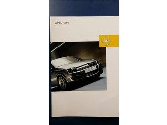 Opel Astra 2005/2006 - broschyr - Uppsala - Opel Astra 2005/2006 - broschyr - Uppsala