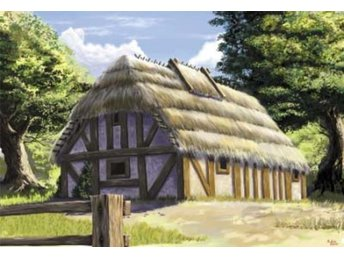 Zvezda 1/72 European thatched country house