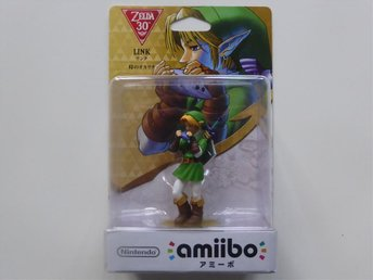 Amiibo Ocarina of Time Link Zelda 30th Anniversary Nintendo Switch Wii U