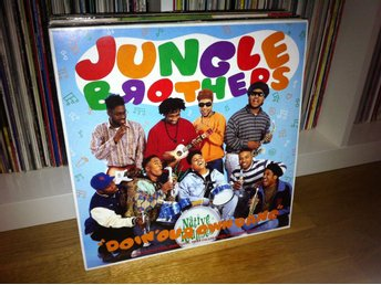 "Jungle Brothers - Doin' Our Own Dang 12"" 1990 (De La Soul Tribe Called Quest)"