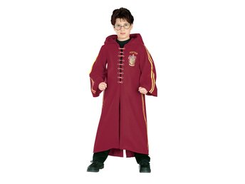 HARRY POTTER 8-10 år DELUXE QUIDDITCH kappa ROBE