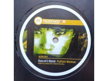 "Rascal & Klone title*  Python Woman / Head Spin* Drum n Bass ,Club 12"" UK"