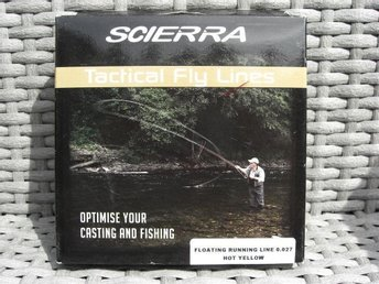 Scierra Floating Running Line 0,027 Hot Yellow