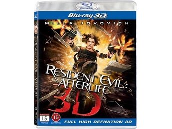 Resident Evil: Afterlife 3D (2010) (Blu-ray)