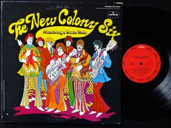 NEW COLONY SIX (M-) – Attacking A Straw Man / Vinyl LP US '69 / Psych Rock