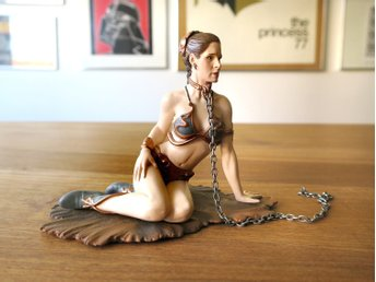 STAR WARS / Princess Leia Jabba Accessory Pack GENTLE GIANT – 2009