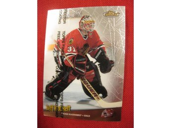 JEFF HACKETT CHICAGO BLACKHAWKS - TOPPS FINEST 1998-1999 - 98-99