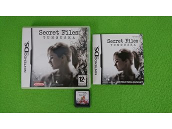 Secret Files: Tunguska KOMPLETT Nintendo DS