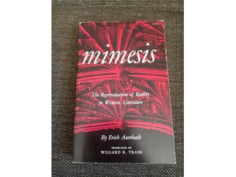 Mimesis The Representation og Reality in Western Literature By Erich Auerbach
