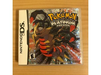 Pokemon platinum version Nintendo DS lågt utrop!