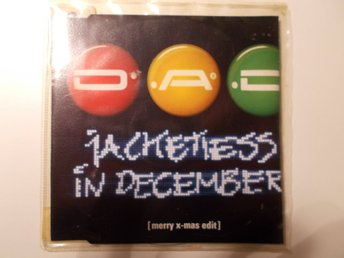 D.A.D. - Jacketless In December, CD singel promo 1998 DK Disneyland after dark