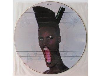 "Grace Jones – Slave To The Rhythm 12"" Picture Disc /NM"