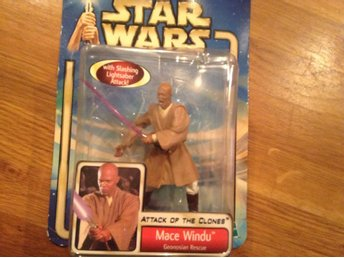 StarWars figur Mace Windu från Attack of The clones