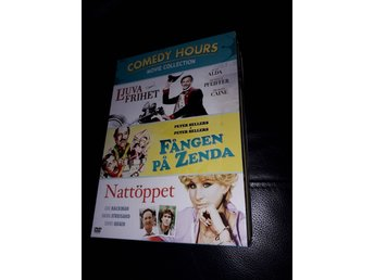 COMEDY HOURS MOVIE COLLECTION CD BOX FÅNGEN PÅ ZELDA NATTÖPPET LJUVA FRIHET