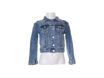 &Denim by H&M, Jeansjacka, Strl: 110, Blå