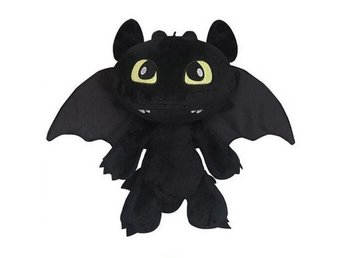 NY! How To Train Your Dragon 2 Mjukisdjur Drake Plysch 18 cm
