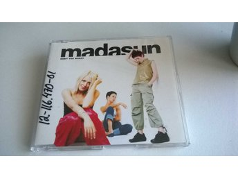 Madasun ‎- Don't You Worry, CD, Single, Promo