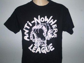 ANTI-NOWHERE LEAGUE (MEDIUM) T-Shirt (Oi! Punk, Skinheads, Exploited, Metallica, - Falkenberg - ANTI-NOWHERE LEAGUE (MEDIUM) T-Shirt (Oi! Punk, Skinheads, Exploited, Metallica, - Falkenberg