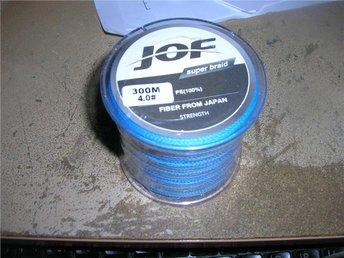 NY flätlina JOF 300m blå0,30mm styrka 22,7kg - Härnösand - NY flätlina JOF 300m blå0,30mm styrka 22,7kg - Härnösand