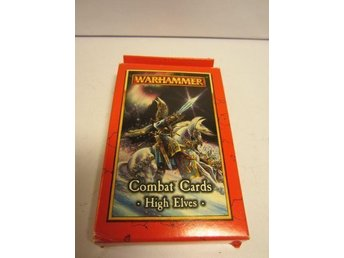 Kortspelet Warhammer Combat Cards, High Elves