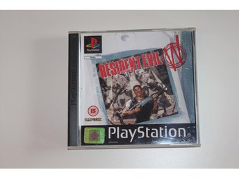 Resident Evil - The white lable - Playstation 1 / PS1 spel