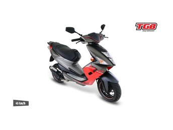 Fabriksny TGB Bullet BASIC RED EU - moped -2017