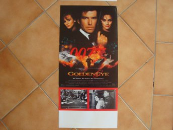 GOLDENEYE 30x70 1995 Pierce Brosnan, JAMES BOND