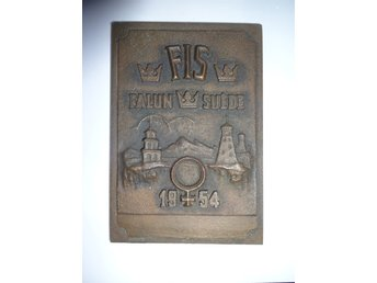 FIS World Ski Championship - VM 1954 Falun - Participation plaque