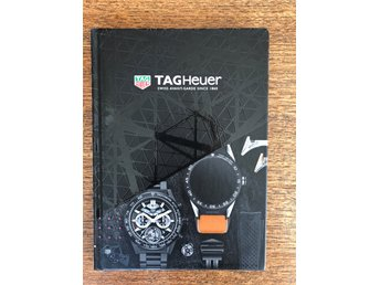 TAG HEUER bok The Catalog 2017 -2018 Inbunden Nyskick