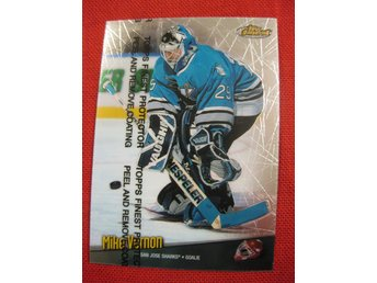 MIKE VERNON SAN JOSE SHARKS - TOPPS FINEST 1998-1999 - 98-99