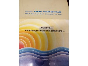 SCRIPT 64 Word processing for the commodore 64 Vinylborsen-skivbutik