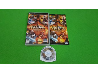 Untold Legends Brotherhood of the Blade PSP Playstation Portable