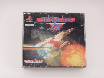 Playstation / 1 Ps1  --  Starblade Alpha  --   PAL