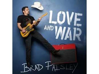 Paisley Brad: Love and war 2017 (CD)