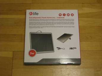 Solcell / solpanel 5 W