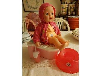 Baby born docka med toalett och tillbehör. I pr.. (337378155) ᐈ Köp ... 3607133495af5