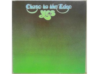 Yes-Close to the edge / Canada LP med utvikbart omslag