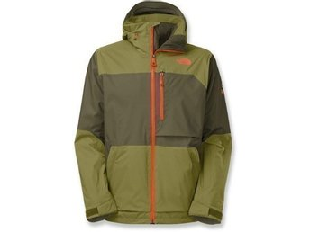 North Face forest night green sickline jacket Ny