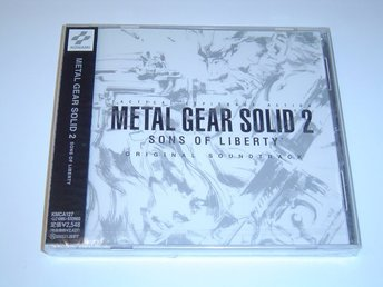 Metal Gear Solid 2 Original Soundtrack Musik *NYTT*