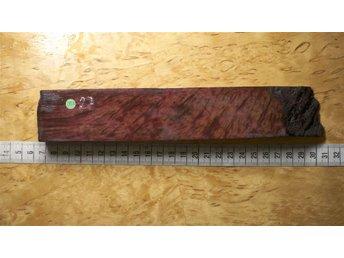 Redwoodburl stabbad 230x42x20 skaftämne masurbjörk - Boden - Redwoodburl stabbad 230x42x20 skaftämne masurbjörk - Boden