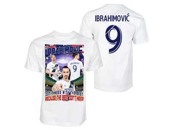 Large T-shirt Zlatan Ibrahimovic sports tröja