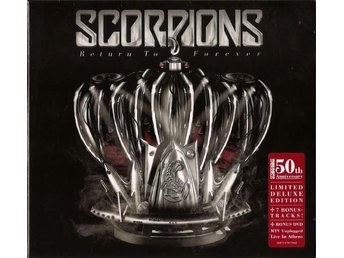 SCORPIONS - RETURN TO FOREVER (CD+DVD) (TOUR EDITION) (NY)(INPLASTAD)