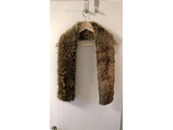 Ny - Men's Coyote Faux Fur Scarf